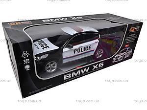 Р/У Машина BMW X6 «Полиция», 866-1401PB