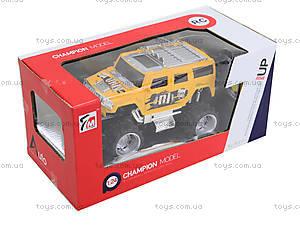 Детская машина на радиоуправлении «Джип», 7М910912, детские игрушки