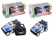 """Машина управляемая """"Полицейский джип"""", 3 цвета, 727-X4, фото"""
