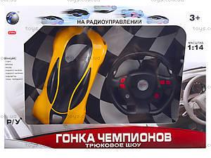 Машина на радиоуправлении для детей «Гонка чемпионов», 666-TT03, іграшки