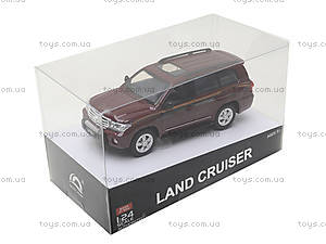 Коллекционная машина Land Cruiser, HQ200133, игрушки