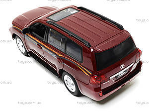 Коллекционная машина Land Cruiser, HQ200133, toys