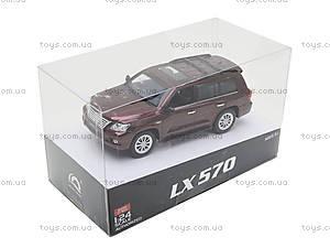 Коллекционная машина на радиоуправлении Lexus LX570, HQ200130, фото