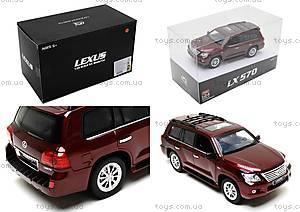Коллекционная машина на радиоуправлении Lexus LX570, HQ200130, цена