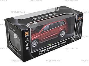 Машина на радиоуправлении Mercedes-Benz GL 550, 866-1820B, игрушки
