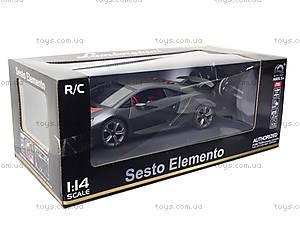 Радиоуправляемая машина Lamborghini Sesto Elemento, HQ200138, детские игрушки
