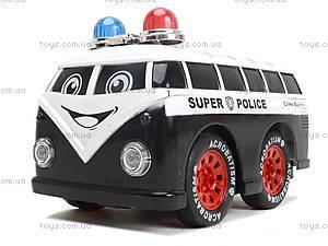 Игрушка на радиоуправлении «Полицейский минивэн», 8009-7, купить