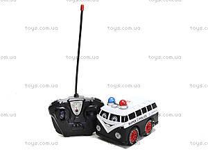 Игрушка на радиоуправлении «Полицейский минивэн», 8009-7, отзывы