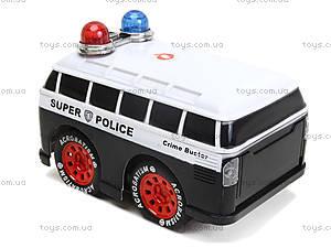 Игрушка на радиоуправлении «Полицейский минивэн», 8009-7, цена