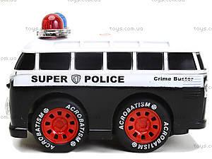 Игрушка на радиоуправлении «Полицейский минивэн», 8009-7, игрушки