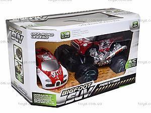 Радиоуправляемая машина «Монстр-трак», SP6888-49, игрушки