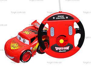 Детская машина на радиоуправлении «Тачки», 3699-AR9, фото