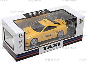 Детская радиоуправляемая машина «Такси», 889A-7, фото