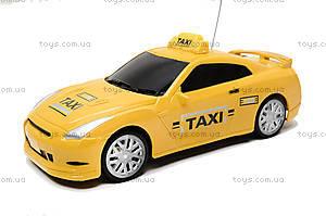 Детская радиоуправляемая машина «Такси», 889A-7, игрушки