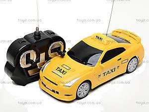 Детская радиоуправляемая машина «Такси», 889A-7, детские игрушки