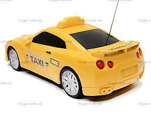 Детская радиоуправляемая машина «Такси», 889A-7, магазин игрушек