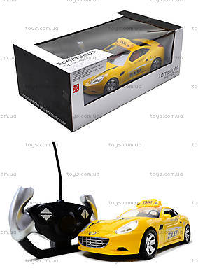 Радиоуправляемая машина «Такси», TF168-1