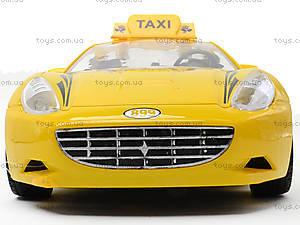 Радиоуправляемая машина «Такси», TF168-1, детские игрушки