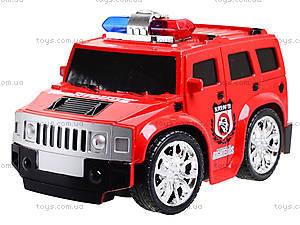 Машина на радиоуправлении «Служебная», 666-20A, детские игрушки