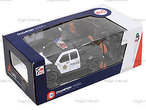 Детская машина на радиоуправлении «Полиция», 7M-331333335339, фото