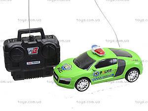 Радиоуправляемая машинка детская «Полиция», 333-3, игрушки