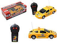 Машинка на радиоуправлении «Такси», 3382-10, отзывы