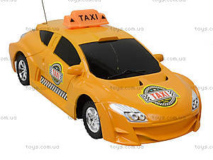 Машинка на радиоуправлении «Такси», 3382-10, игрушки
