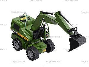 Детский экскаватор - погрузчик Truck, 8059E, детские игрушки