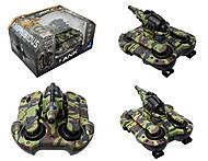 Радиоуправляемый танк с эффектами, 24883A, игрушки