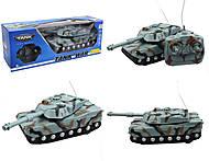 Игрушечный танк на радиоуправлении, эффекты, 383-20, отзывы