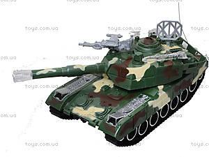 Радиоуправляемый танк в коробке, звук, свет, M1A2-E, фото