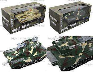 Радиоуправляемый танк в коробке, звук, свет, M1A2-E