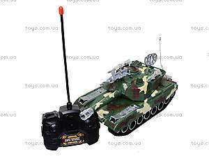 Радиоуправляемый танк в коробке, звук, свет, M1A2-E, детские игрушки