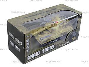 Радиоуправляемый танк в коробке, звук, свет, M1A2-E, магазин игрушек