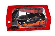 РУ транспорт Bugatti, черный цвет, JT043