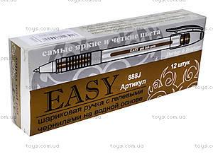 Ручка гелевая, золотистая, EA888GL, купить