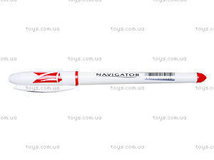Ручка гелевая красная Navigator, 12 штук, 73901-NV, фото