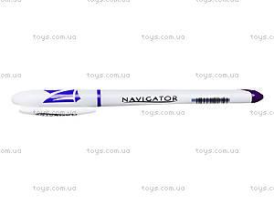 Ручка гелевая фиолетовая Navigator, 12 штук, 73901-NV, фото