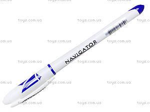 Ручка гелевая синяя Navigator, 12 штук, 73901-NV, купить