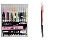 Ручки гелевые 12 пастельных цветов, толщина 1 мм , HP-6207-12, магазин игрушек
