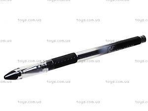 Ручка гелевая Tianjiao, черная, TZ501B, фото