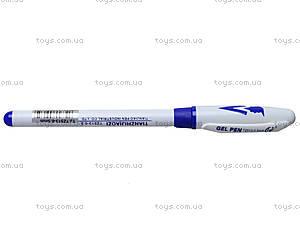 Ручка гелевая, синяя, TZ513, купить