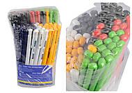 Ручка шариковая автоматическая BASE, черная (40 штук), BM.8205-02, купить