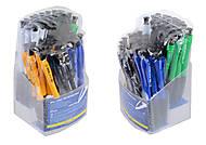 Набор шариковых ручек POWER, 0,7 мм, синяя (50 штук), BM.8207, детские игрушки
