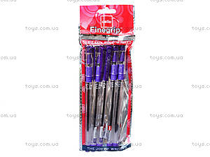 Ручка шариковая Cello, фиолетовая, кансакт