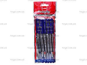 Шариковая ручка Finegrip, Finegr син