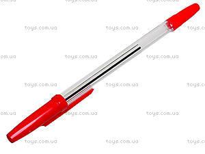 Ручка шариковая красная Standart 51, 10 штук, 74005-NV, фото