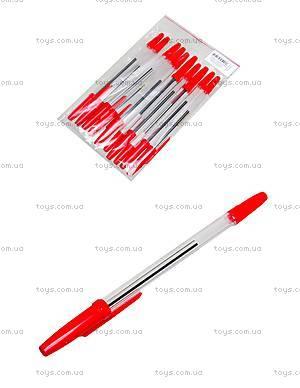 Ручка шариковая красная Standart 51, 10 штук, 74005-NV