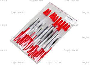 Ручка шариковая красная Standart 51, 10 штук, 74005-NV, отзывы
