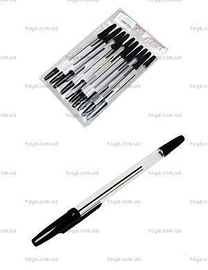 Шариковая ручка черная, 10 штук, 74005-NV